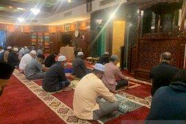 Shalat tarawih dengan SOP  ketat di Kuala Lumpur