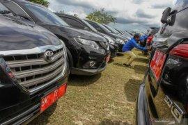 Pemkot Palembang tertibkan mobil dinas