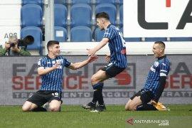 Atalanta pecundangi Juventus, Milan kembali mendekati Inter