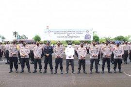 Gubernur dan Kapolda Kaltara pimpin apel pemberangkatan 408 siswa Diktuk Bintara Polri