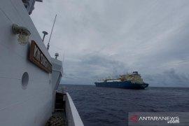 Bakamla usir kapal Yunani lalu lalang di ALKI III