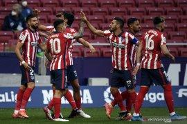 Atletico Madrid bertahan di puncak klasemen Liga Spanyol