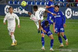 Real Madrid diimbangi Getafe 0-0