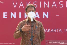 Menkes berharap seniman-budayawan bisa menjadi teladan lansia jalani vaksinasi