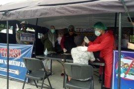 HK bersama Dinkes dan Polres Lampung Tengah lakukan rapid tes antigen gratis