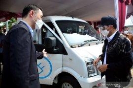 Ini alasan DFSK luncurkan kendaraan minivan listrik Gelora E
