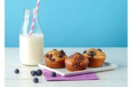Resep Quick Flourless Peanut Butter Muffins untuk menu Ramadhan