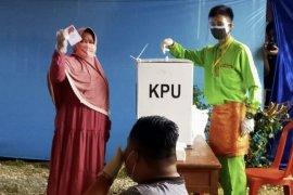 Pasangan Ridho unggul dari Rajut di PSU Inhu