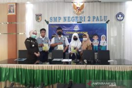 50 pelajar SMPN 2 Palu terima sosialisasi hukum dari Kejati Sulteng