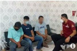 Polisi bekuk tersangka penjual daging celeng  berkedok daging sapi di Lampung Timur