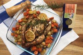 Resep ayam panggang bumbu Italia untuk menu Ramadhan