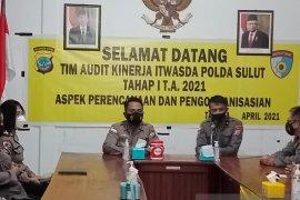 Itwasda Polda Sulawesi Utara audit kinerja Polres Sangihe
