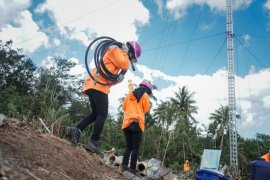 Kiprah Dua Srikandi PLN Ikut Dirikan Tower Listrik Darurat di NTT