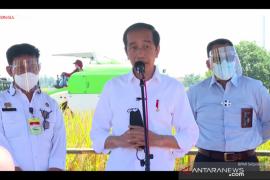 Presiden dengarkan keluhan para petani di Indramayu
