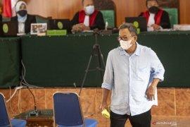 Muzakir Sai Sohar Berikan Keterangan Sebagai Terdakwa dipersidangan