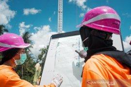 Kiprah dua Kartini PLN dibalik berdirinya menara listrik darurat di Pulau Timor