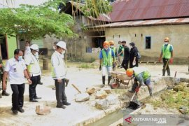 Pemkot Kendari genjot pembangunan infrastruktur berbasis masyarakat