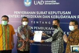 UAD membuka Prodi Magister Teknik Kimia