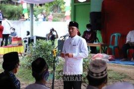 Bupati Lampung Barat awali safari Ramadhan