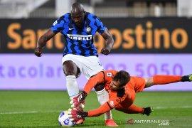 Inter gagal tegaskan keunggulan di puncak setelah diimbangi Spezia 1-1