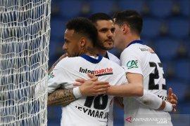 PSG melenggang mulus ke semifinal Piala Prancis seusai gulung Angers 5-0