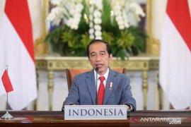Presiden Jokowi menyampaikan 3 pandangan pada KTT Perubahan Iklim