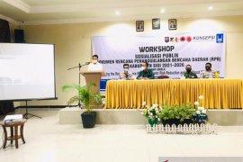 Bupati Sigi: Dokumen PRB menjadi pedoman penanggulangan bencana