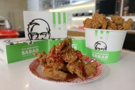 Menu untuk sajian Ramadhan - Sayap ayam goreng tepung saus mentega ala chef Yuda