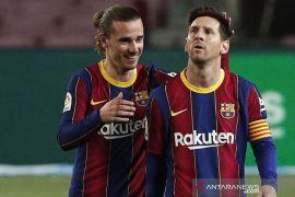 Liga Spanyol - Barcelona kalahkan Getafe 5-2, Lionel Messi cetak dua gol satu assist