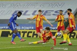 Liga Inggris - Leicester kokoh di posisi ketiga klasemen usai gasak West Brom 3-0