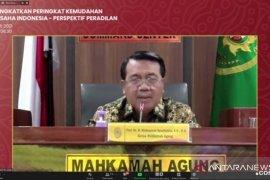 MA yakin Indonesia bisa tembus peringkat 40 survei kemudahan berusaha