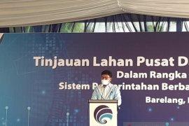 Pemerintah rencanakan empat daerah sebagai lokasi pusat data nasional
