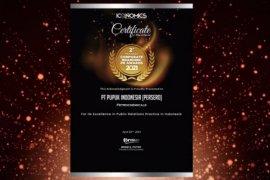 Pupuk Indonesia raih tiga penghargaan dalam ajang  TOP CSR 2021