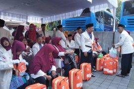 Kemenag Mataram menghentikan ekspose penarikan setoran nomor porsi haji