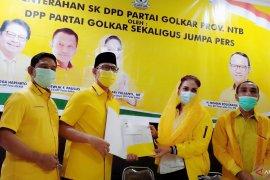 Walikota Mataram resmi menerima SK Ketua DPD Golkar NTB