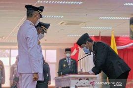 Gubernur Kaltara menaruh banyak harapan pada pemimpin baru Malinau