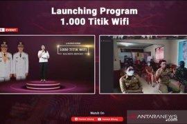Pemerintah Kota Bitung bangun 1.000 titik wifi