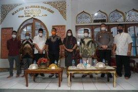 Bupati Sitaro Hadiri Safari Ramadhan di Masjid Al-Juhad Ulu Siau