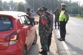 Polda Riau dirikan empat pos penyekatan di perbatasan