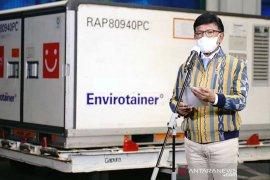 Indonesia kembali terima 6,48 juta vaksin COVID-19 Sinovac dan Sinopharm