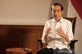 Presiden Jokowi sampaikan pertumbuhan ekonomi nasional