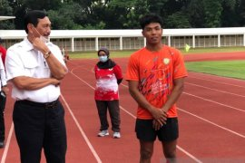 Sprinter Zohri ingin fokus berlaga di Olimpiade meski dijanjikan bonus