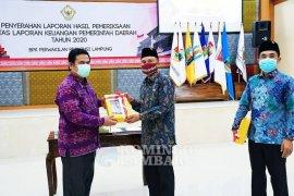 Kabupaten Lampung Barat raih WTP ke-11 kali berturut-turut