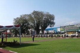 Gubernur Olly pimpin apel gelar pasukan Operasi Ketupat Samrat 2021