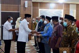 Musa Ahmad kukuhkan Dewan Riset Daerah Lampung Tengah