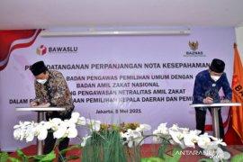 MoU Bawaslu dan Baznas cegah zakat untuk politik praktis
