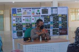 Wakapolda Lampung monitoring titik simpul transportasi angkutan mudik Lebaran