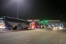 Kendaran lalui tol Lampung jelang pelarangan mudik mulai ramai