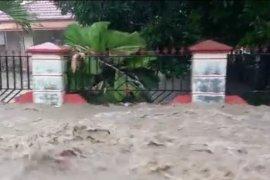 Banjir melanda pemukiman dan persawahan Kabupaten Gorontalo