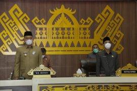 Wabup Pringsewu hadiri rapat paripurna rekomendasi hasil pembahasan LKPJ Bupati